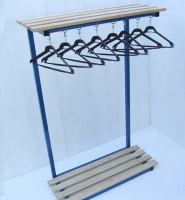 Portable Unit with Shelf & Bag Stand
