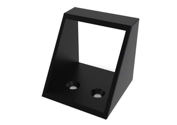 black cubicle lock