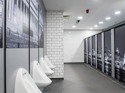 Digital PrintToilet Cubicles