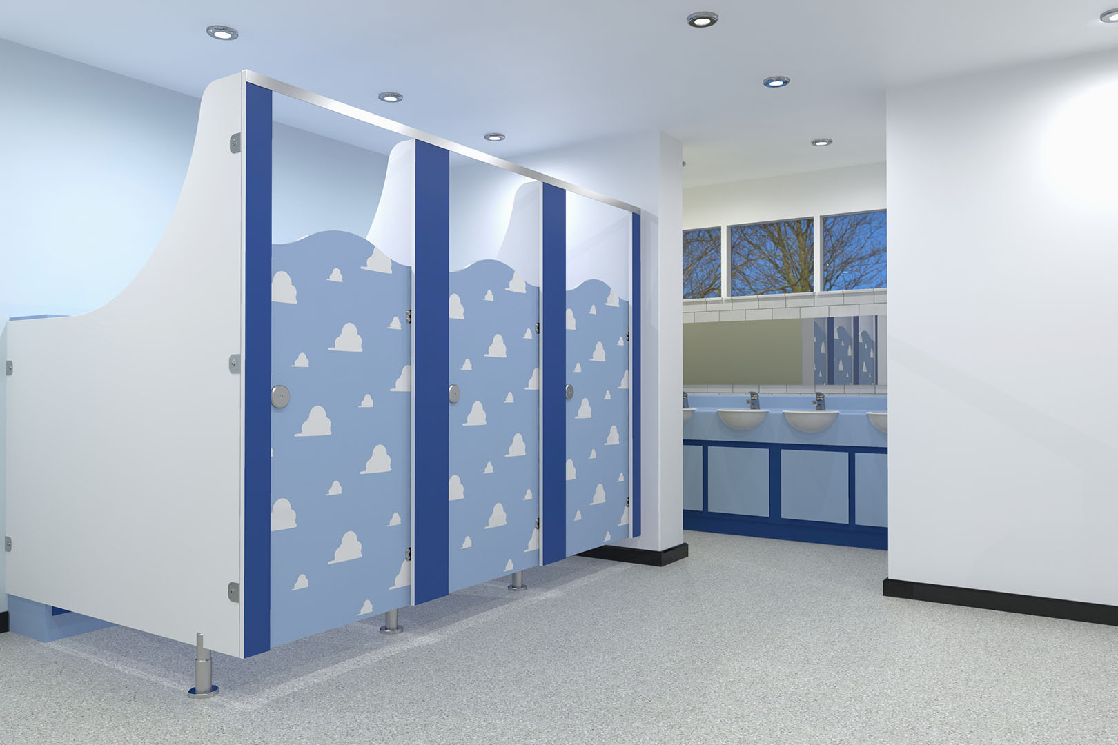 Toilet Cubicles for schools