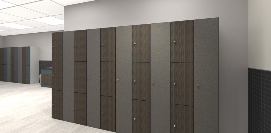 Changing Room Lockers