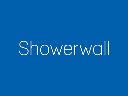 View our shower walls range