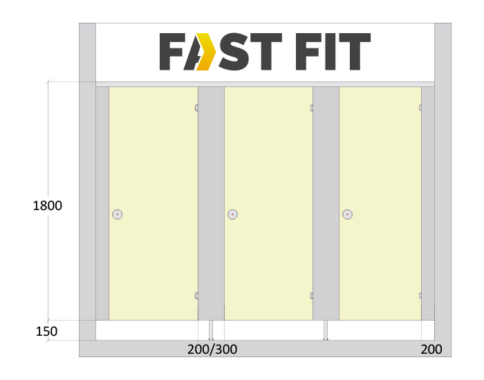 Fastfit Cubicle Specifications